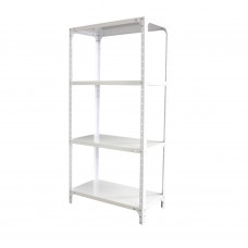 DIY SHELVING WHITE 1500X760X380MM