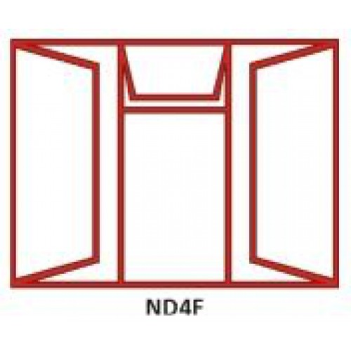 WINDOW FRAME STEEL ND4F
