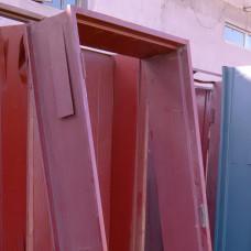 DOOR FRAME STEEL DOUBLE 9