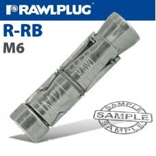 RAWLBOLT M6X55X10MM
