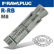 RAWLBOLT M8X80X25MM