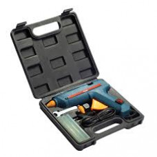 80W GLUE GUN  IN CARRY CASE WITH 6 GLUE STICKS