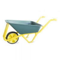 WHEELBARROW ECO LASHER YELLOW