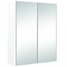 CABINET BATHROOM DOUBLE DOOR WHITE